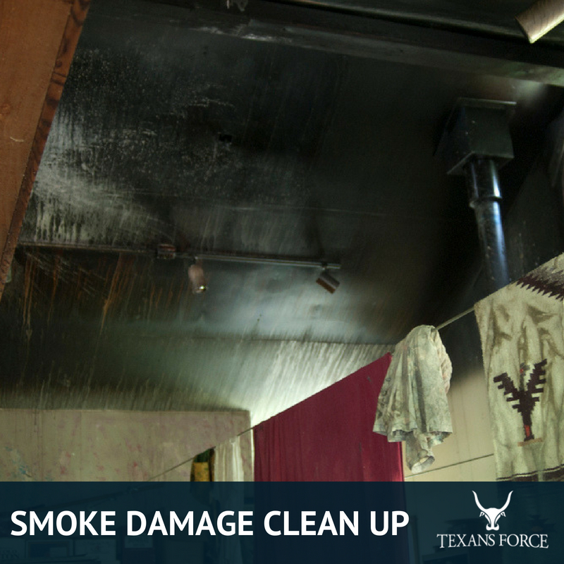 smoke damage clean up