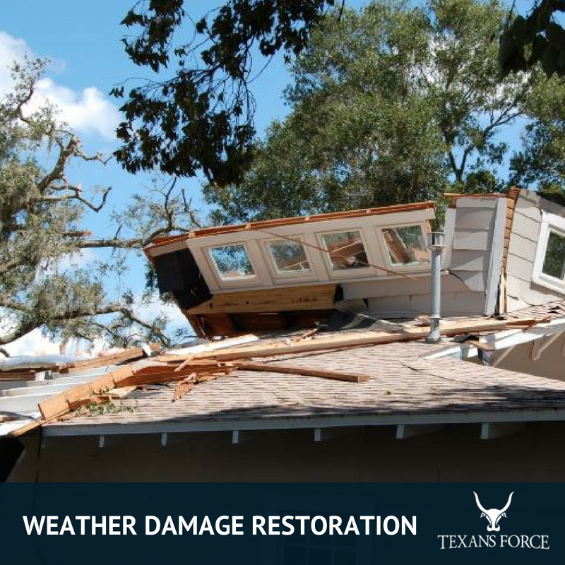 weather damage restoration